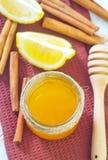 Honung och citron Royaltyfria Foton