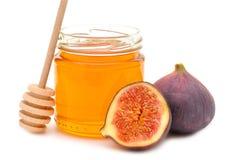 Honung och figs arkivbild