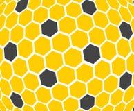 Honungskaka - textur Bakgrund Fotografering för Bildbyråer