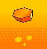 honungskakor Arkivfoto