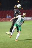 Honved vs. Ferencvaros (FTC) OTP Bank League football match Stock Photography