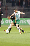 Honved vs. Ferencvaros (FTC) OTP Bank League football match Stock Photo