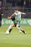 Honved vs. Ferencvaros (FTC) OTP Bank League football match Stock Photo