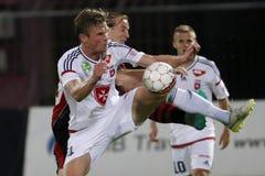 Honved vs. Videoton OTP Bank League football match Stock Photo
