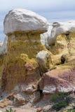 Hoo Doo на парке шахты краски около Колорадо-Спрингс, CO Стоковое Изображение