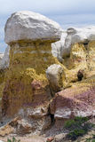 Hoo Doo przy farby kopalni parkiem blisko Colorado Springs, CO Obraz Stock