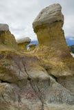 Hoo Doo przy farby kopalni parkiem blisko Colorado Springs, CO Obrazy Stock