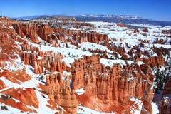 Hoo-doos bei Bryce Canyon National Park, Utah Lizenzfreie Stockfotografie