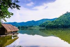 Hoob Khao Wong Reservoir, Danchang, Suphanburi, Thailand, stock foto's