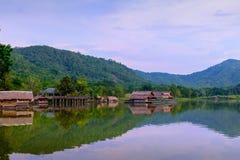 Hoob Khao Wong Reservoir, Danchang, Suphanburi, Thailand, royalty-vrije stock fotografie