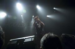 Hoobastank Live Concert in Jakarta Stock Photos