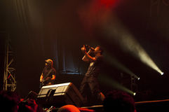 Hoobastank Live Concert in Jakarta Stock Image