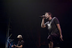 Hoobastank  Live Concert in Jakarta Stock Images