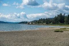 Hood Canal From Belfair State Park royalty free stock images