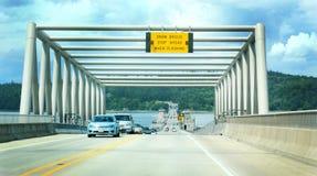 Hood Canal Bridge Stock Photography