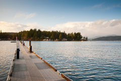 Hood Canal pier Stock Photography