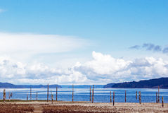 The Hood Canal in Washington state Stock Photography