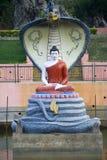 Hood Covering Buddha royalty-vrije stock foto