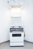 Hood and gas stove Stock Photography