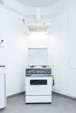 Hood and gas stove Royalty Free Stock Photos