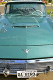 Hood and grill of a restored Ford Thunderbird Stock Photo