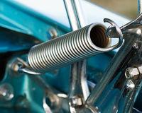 Hood Hinge Spring. Classic style hood hinge spring for vintage autos Stock Image
