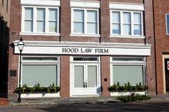 Hood Law Firm royaltyfri fotografi