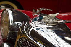 Hood ornament of the Chrysler Imperial Series CG-Eight Stock Photo