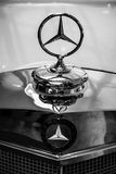 Hood ornament of full-size luxury car Mercedes-Benz 300S Stock Photos