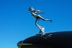 Hood ornament of a woman Royalty Free Stock Image