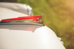 Hood of retro car Stock Photography