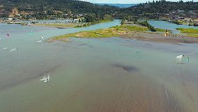 Hood River Kite Boarding metrajes