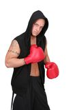 Hooded boxer Stock Photos