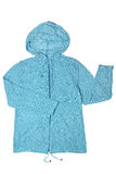 Hooded knitted jacket Stock Photos