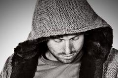 hooded male top Στοκ Εικόνες