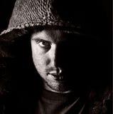 hooded male top Στοκ φωτογραφίες με δικαίωμα ελεύθερης χρήσης