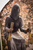 Hooded Medieval Executioner statue in Taxco Guerrero Mexico Stock Images
