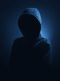 A hooded person Stock Image