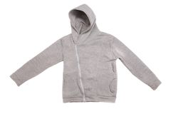 Hooded sweater Stock Images