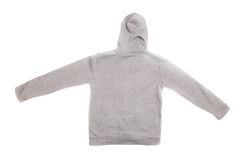 Hooded sweater Royalty Free Stock Images