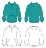 hooded tröja Fotografering för Bildbyråer