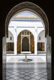 HoodEl Bahia Palace de cuiseur Images libres de droits