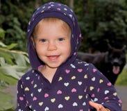 hoodie甜点小孩 库存图片