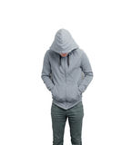 Hoodie. Dodgy guy with a hoodie Stock Photos