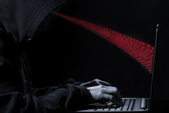 Hoodie Hacker! Royalty Free Stock Photography