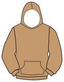 Hoodie sweatshirt vector Royalty Free Stock Photos