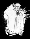 Hoodie urbain Illustration Libre de Droits