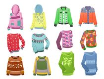 Hoodies for girls Royalty Free Stock Image