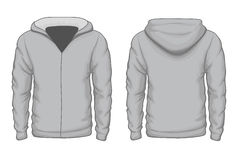 Hoodies shirt vector template Stock Images