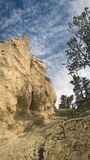 Hoodoo βουνών κοιλάδων τόξων banff Στοκ εικόνα με δικαίωμα ελεύθερης χρήσης